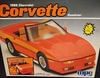 MPC 6480   --    1988 Corvette Roadster    1:16   (decals damaged)