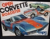 MPC 7506   --    Corvette Open Roadster  3'n1   1:25
