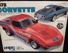 MPC 7830   --    1978 Corvette  1:20  (decals cracked)