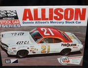 MPC 796/12    --    Donnie Allison's Mercury Stock Car   1:25