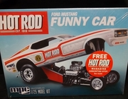 MPC 801/12    --     'Hot Rod' Ford Mustang Funny Car   1:25