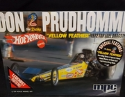 """SOLD OUT!!!   MPC 844/12    --    """"Yellow Feather"""" Don 'the Snake' Pruhomme's """"Hot Wheels"""" 1972 Top Fuel Dragster   1:25"""