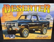 MPC 847/12   --      'Deserter'   1984 GMC Pickup   (molded in white)  1:25