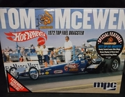 """MPC 855/12     --    Tom 'Mongoose' McEwen's """"Hot Wheels"""" 1972 Top Fuel Dragster   1:25"""