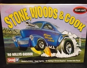 Polar Lights 891/12      --    '40 Willys Gasser  Stone, Woods & Cook   SnapIt  1:32