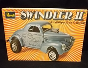 "Revell 1283     --      ""Swindler II""  '41 Willys Gas Coupe   1:25   (damaged box &  decals)"