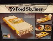 Revell 1333     --     '59 Ford Skyliner   1:25