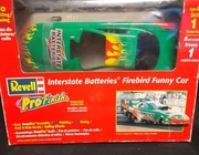 Revell 1339     --     Interstate Batteries Firebird Funny Car   PreDecorated SnapTite  1:24