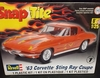 Revell 1968    --    '63 Corvette Sting Ray Coupe   SnapTite   1:25