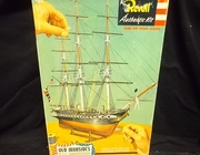 """Revell 319:300      --     """"Old Ironsides"""" U.S.S. Constitution    (a little over 12 inches long)"""