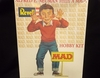 Revell 3639      --    M.A.D. - Alfred E. Neuman  /  comes with different signs & arms to make a number of Really Idiotic poses     1:8