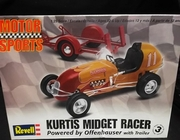 Revell 4267    --    Kurtis Midget Racer / Powered by Offenhauser with Trailer   1:25