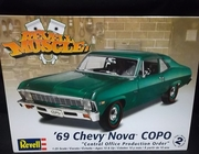 "Revell 4274  --    '69 Chevy Nova COPO ""Central Office Production Order""  1:25"