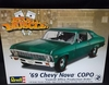"""Revell 4274  --    '69 Chevy Nova COPO """"Central Office Production Order""""  1:25"""