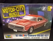 Revell 4377        --       '67 Nickey Camaro RS/SS 427    1:25