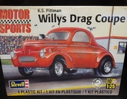 Revell 4990   --   Willys Drag Coupe - K.S. Pittman   1:25