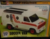Revell 6406   --    'Soccer Van'   Snap-Together   1:20