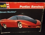 "Revell 7100    --    ""Dream Machine""  Pontiac Banshee  1:25"