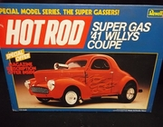 Revell 7125     --     Super Gas '41 Willys Coupe   1:25