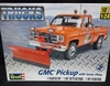 Revell 7222     --     GMC Pickup with Snow Plow   1:24