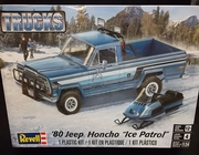 "SOLD OUT!!!  Revell 7224     --    '80 Jeep Honcho ""Ice Patrol""    1:24"