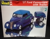 Revell 7245   --     1937 Ford Convertible with Trailer   1:24