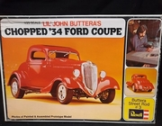 Revell H-1337    --    LiL' John Buttera's Chopped '34 Ford Coupe     1:25