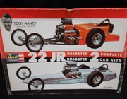 Revell H1224   --     Tony Nancy's #22 JR Roadster & Dragster  /   Build 2 Complete Kits   1:25