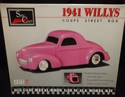 SpecCast 94000    --     1941 Willys Coupe Street Rod  1:25