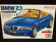 Tamiya 24166      --      BMW Z3 Roadster   1:24    (parts off tree)