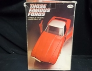 Testors 103   --     Cougar II    'Those Famous Fords'  Series   1:25