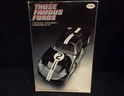 "Testors 112    --    Ford Mark II  ""Those Famous Fords"" Series   1:25"