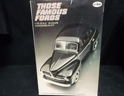 "Testors 115   --       '48 Ford Coupe  ""Those Famous Fords"" Series  1:25"