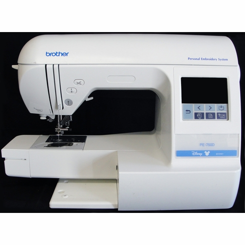 Brother Disney PE750D Computerized Embroidery Machine