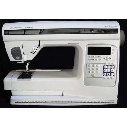 Husqvarna Viking Platunim Plus Computerized Sewing & Embroidery Machine