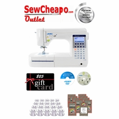Juki HZL-F300 Sewing & Quilting Machine w/ Platinum Series Sewing Package!