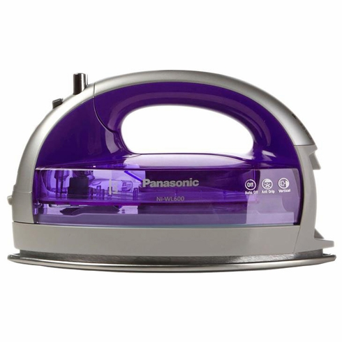 Panasonic NI-WL600 Cordless Multi-Directional Iron w/ Stainless Steel Soleplate (Violet)