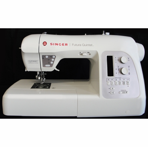 Singer Futura Quintet Computerized 40in40 Sewing Embroidery Machine Delectable How To Thread A Singer Futura Sewing Machine