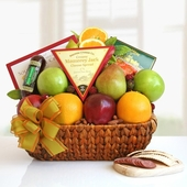 Abundant Gourmet Fruit Basket