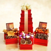 Blush Godiva Gift Tower