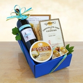 Classic Cabernet Wine & Cheese Assortment