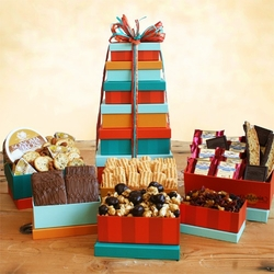 Classic Delicious Gourmet Gift Tower