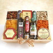 Fanciful Gourmet Meat & Cheese Gift Crate