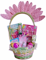 FLOWER POWER EASTER BASKET