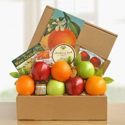 Fresh Fruit & Cheese Delicious Gift Box