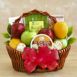 Fruitfully Fancy Gift Basket