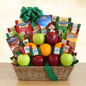 Ghirardelli & Fruit Gift Basket