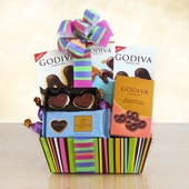 Godiva Color Popping Palette Treat Box