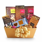 Godiva Golden Milk Chocolate Gift Basket