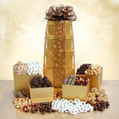 Gold Rush Grand Gourmet Gift Tower
